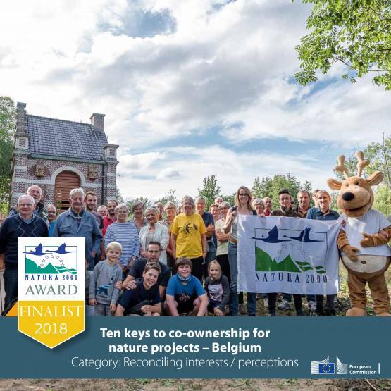 Foto van Natura 2000-award: stem op het Life+-Scalluviaproject