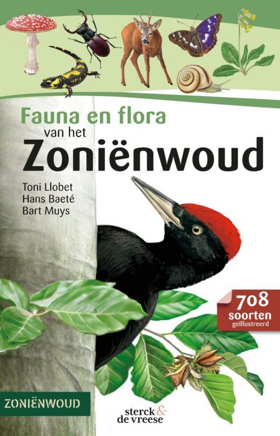 Foto van  Nieuwe natuurgids 'Fauna en Flora van het Zoniënwoud'