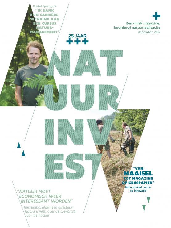 Foto van Doorblader het verjaardagsmagazine van Natuurinvest