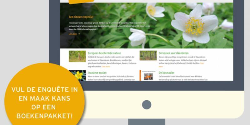 Test Ecopedia en maak kans op een groot boekenpakket